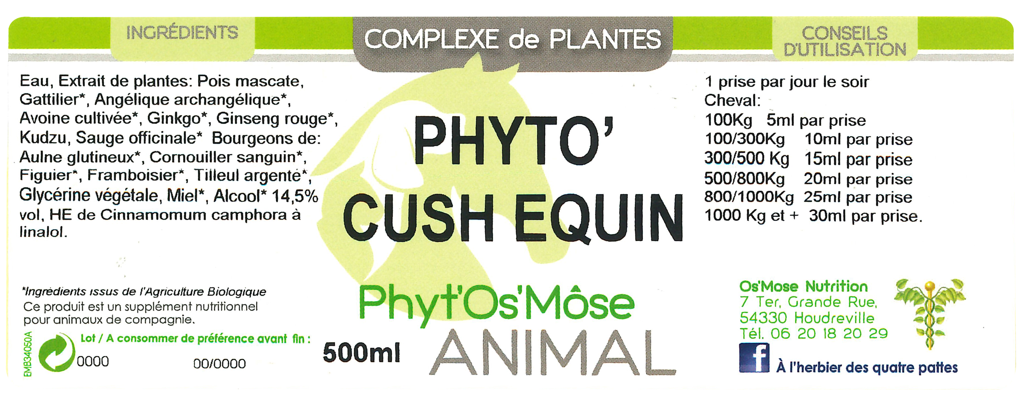 Phyto cushing Horse Remedy